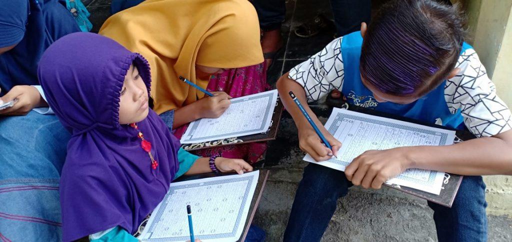 Belajar Menulis Arab untuk Anak